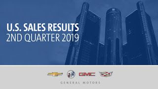 Ventes de GM aux USA, second trimestre 2019