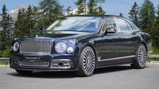 Mansory s'attaque à la Bentley Mulsanne