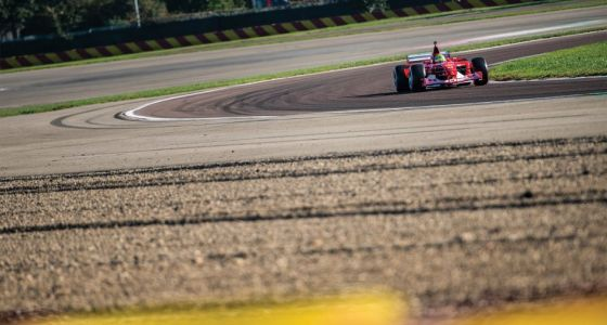 Video: Mick Schumacher drives father's F2002 at Fiorano