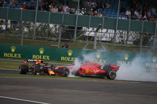 Vettel accepts blame for Verstappen crash
