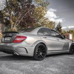 Mercedes C63 AMG kit Black Series W204, avis de proprio