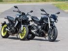 Triumph Street Triple 765 S VS Yamaha MT-09:  La technique