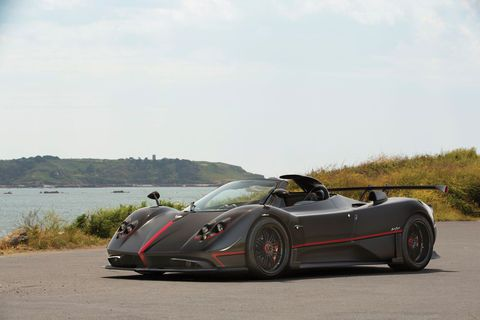 RM Sotheby's:  one-off Pagani Zonda Aether Roadster