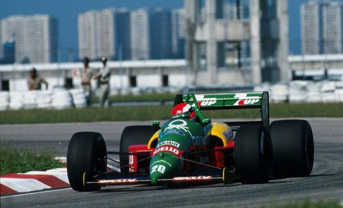 Johnny Herbert miraculously survives to race another day