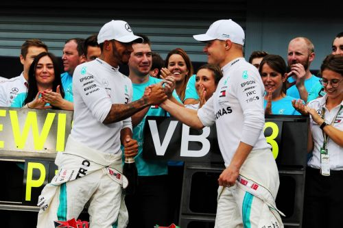 Hamilton thanks Bottas for 'greatest partnership in F1 ever'