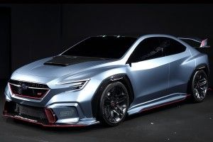 Subaru: le Viziv Performance STI Concept en photos