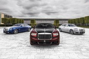 "Rolls-Royce présente la Ghost ""Zenith Collection"""