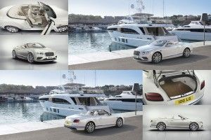 La Bentley Continental GT Convertible façon yacht