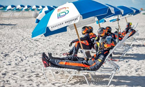 Life's a beach, and then you race!