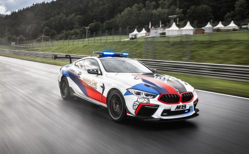 La BMW M8 s'engage en Moto GP
