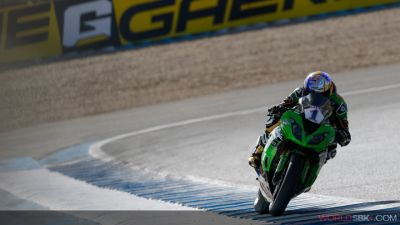 Jerez - Supersport - Superpole:  Kenan Sofuoglu leader