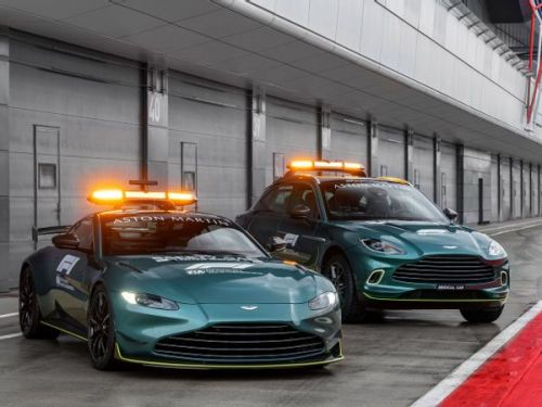 Aston Martin Vantage:  voici la nouvelle Safety Car en F1 !