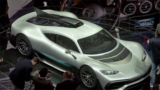 Vidéo Mercedes-AMG Project One