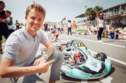 Nico launches the Rosberg Young Driver Academy