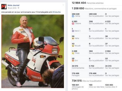 La page Facebook de Moto Journal passe les 700 000 fans