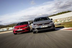 La Volkswagen Golf GTI TCR (2019) en action