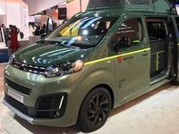 Citroen Space Tourer Rip Curl:  camping - En direct du salon de Francfort
