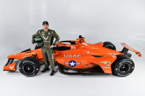 Daly and the US Air Force roll out 'the right stuff' for Indy