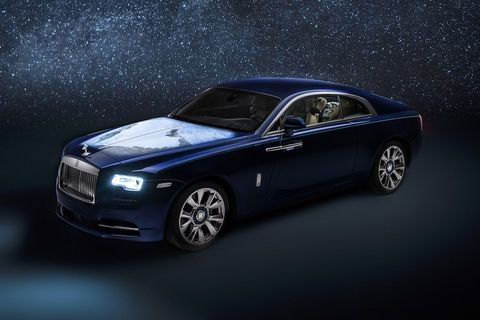 One-off Rolls-Royce Wraith Inspired By Earth