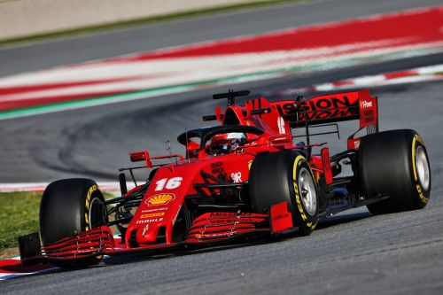 Leclerc explains Ferrari low-key performance on Day 1
