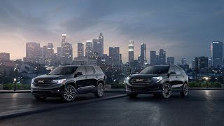 New York 2018, 2019 GMC Terrain et Acadia Black Edition