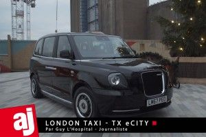 "Les ""London Cab"" se branchent à Paris !"