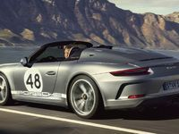Salon de New York 2019 - Porsche dévoile la 911 Speedster