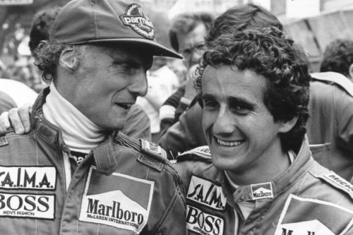 Seasons with Lauda were 'the best in my career' - Prost