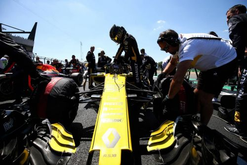 Mid-field leader Renault has received a wake-up call