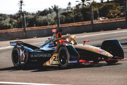 Virgin's Bird flies in Marrakesh - secures ePrix super pole!