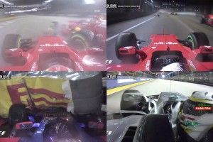 F1 - Vidéo: On Board à Marina Bay