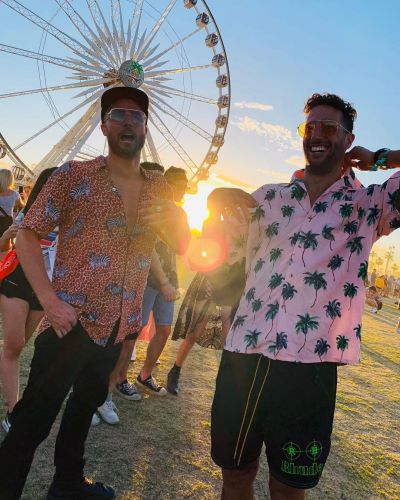 Daniel Ricciardo gets down at Coachella