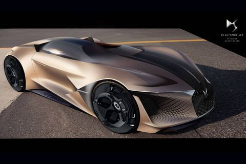 DS X E-Tense Concept:  dream car de 2035