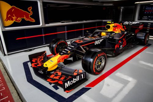 Bull, Red Bull to carry 007-themed livery at Silverstone
