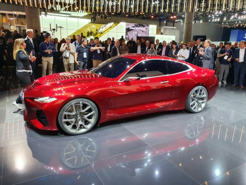 BMW Concept 4. La surprise du salon de Francfort