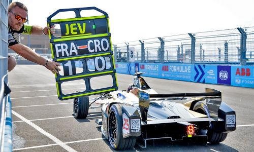 Buemi on pole again for season finale New York City ePrix
