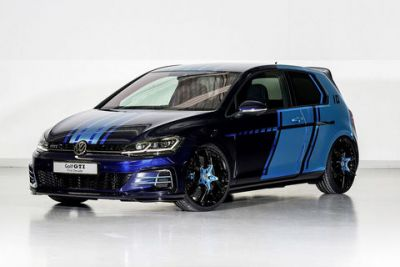 Deux concepts VW Golf au Wörthersee