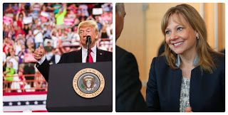 Mary Barra ne conseille plus Donald Trump