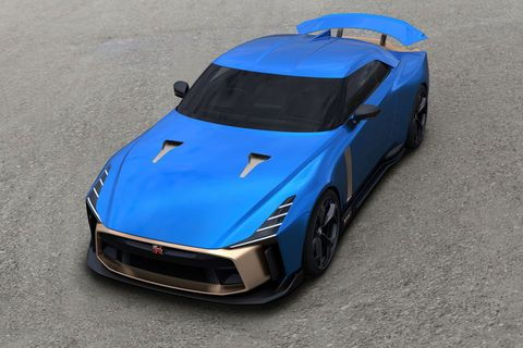 Production confirmée pour la Nissan GT-R50 by Italdesign