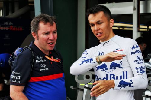 Albon impressed with ability 'to push at 95 percent' in F1