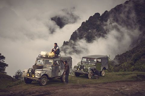 Maneybhanjang:  the land of Land Rovers