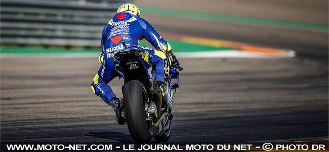 GP d'Aragon - Warm-up:  Iannone fait briller les couleurs Suzuki