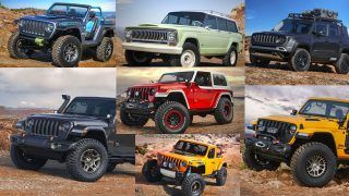 7 concepts pour le Moab Easter Jeep Safari 2018