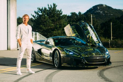 Rosberg takes new Rimac C Two prototype for first spin