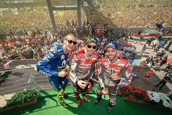 ItalianGP:  Valentino Rossi content de son weekend, oui mais
