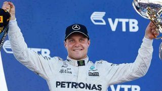 Bottas reconduit par Mercedes pour 2018