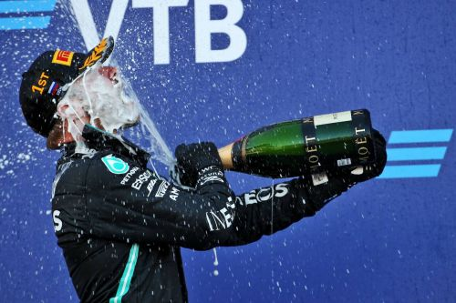 Formula 1 swaps Champagne for 'sparkling wine' on podium!