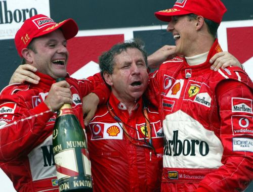 A red letter day for Ferrari in 2002