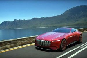 La Vision Mercedes-Maybach 6 en action !