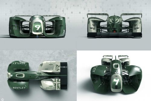 Le Mans 2030:  la Bentley 9 mise sur le pneu Battery Stick